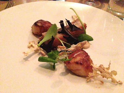 Stitch and Bear - Aniar - Scallops and pork belly