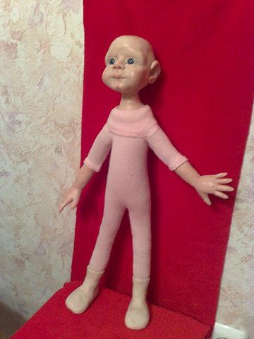 Сделать куклу пластика своими руками