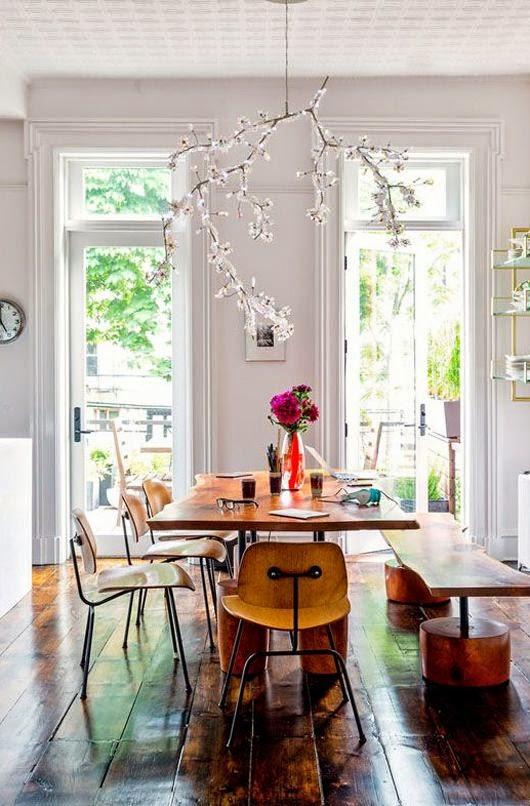 decoracao-sala-jantar-mesa-cadeira-madeira