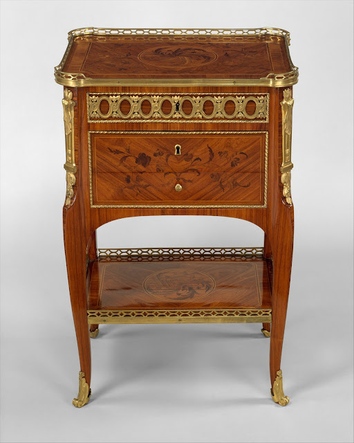 Table, Writing, Roger Vandercruse called Lacroix , ca. 1760–70