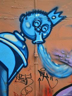 blue spew