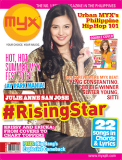 Julie Ann San Jose MYX Magazine June 2012
