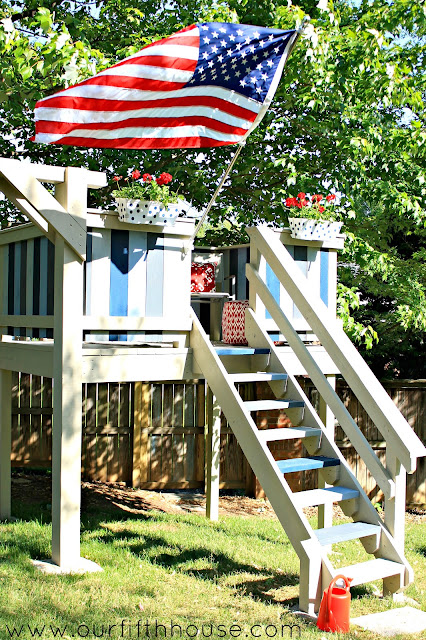 diy kids playhouse/clubhouse