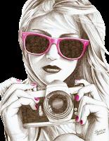 desenho fotógrafa