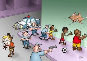 ¡Basta de abuso policial!