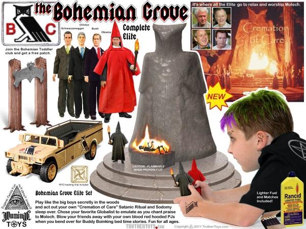 Bohemian Grove Elite toy set