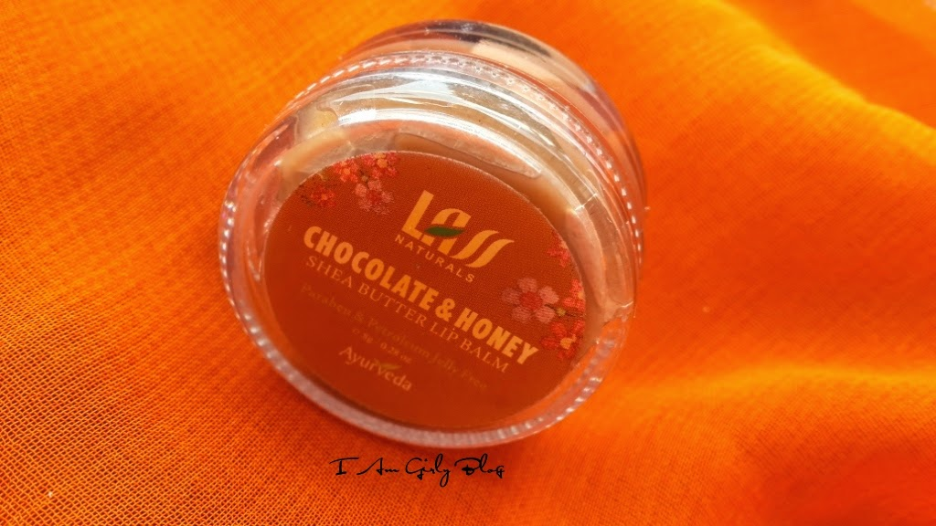 Lass Naturals Chocolate & Honey Lip Balm