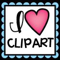 I heart Clipart