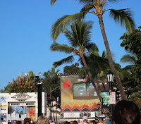 Part of the Kona Ironman World Championship 2012