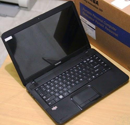 harga laptop toshiba c800d bekas september 2014