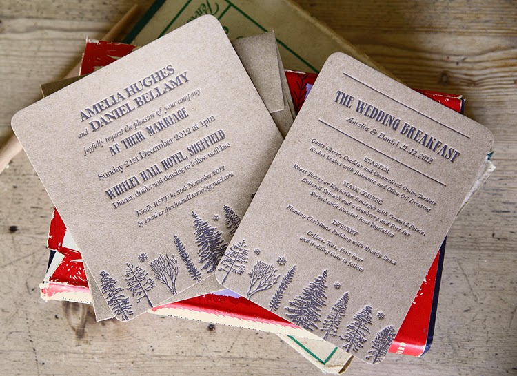 the pot kiln anywhere blog wedding invitations Wedding Invitations Uk Not On The High Street all of these wedding invitations are themed for a winter wedding, or could be interpreted to theme a rustic woodland wedding at wasing woodlands wedding invitations uk not on the high street