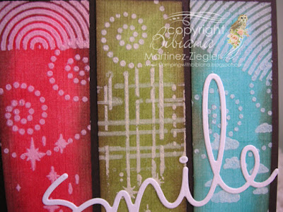 masculine card with stencils detail
