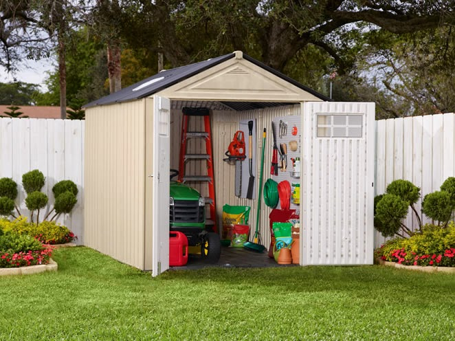 Large Rubbermaid Storage Shed Design
