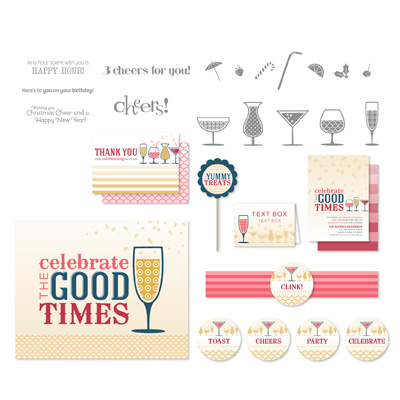 Stampin' Up! Happy Hour Ensemble Digital Download