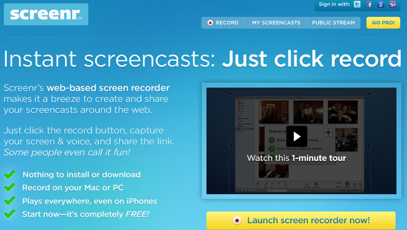 Screenr - screenr.com