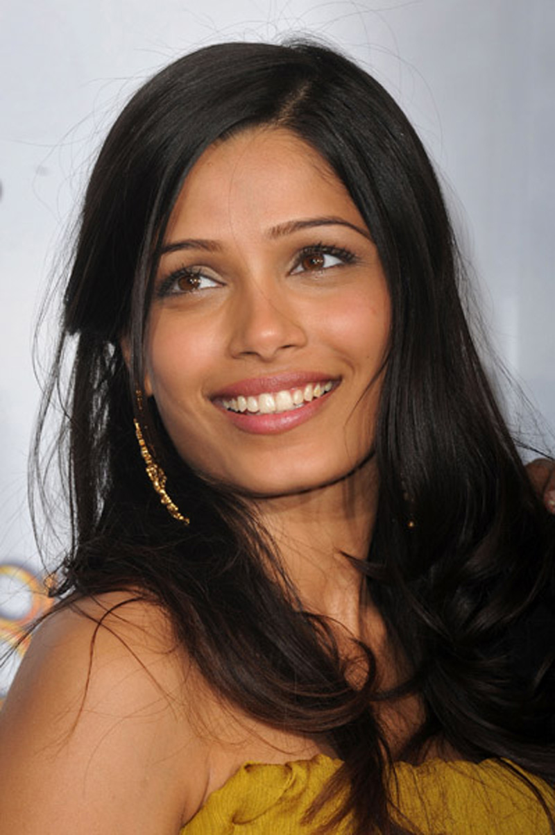 pinto single women Freida pinto, 33, has shared her midlife is when women hope to enjoy a bit more freedom brave delivery driver fights off motorbike thieves single-handedly.
