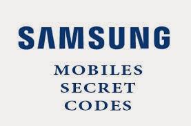 أكواد هاتف سامسونج - Samsung Secret Codes