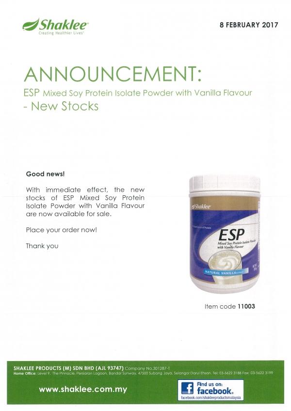 ESP, Hi I am back!