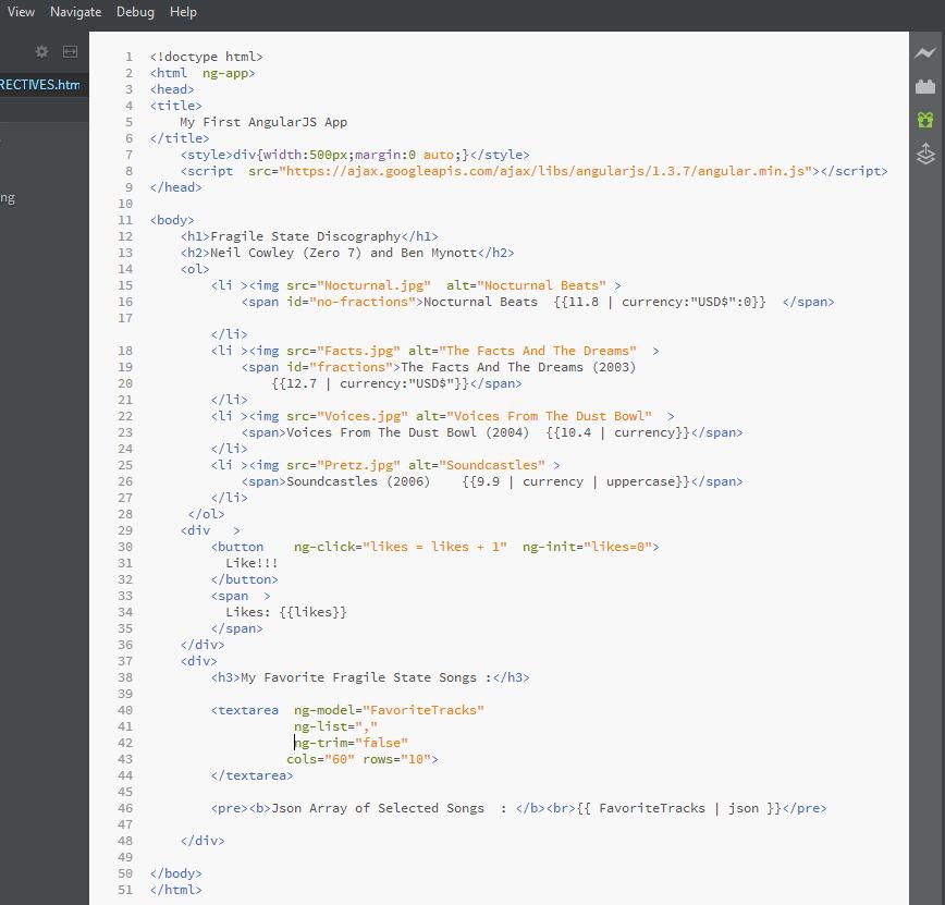 The Angular Club: HTML5 Markup Validation for AngularJS