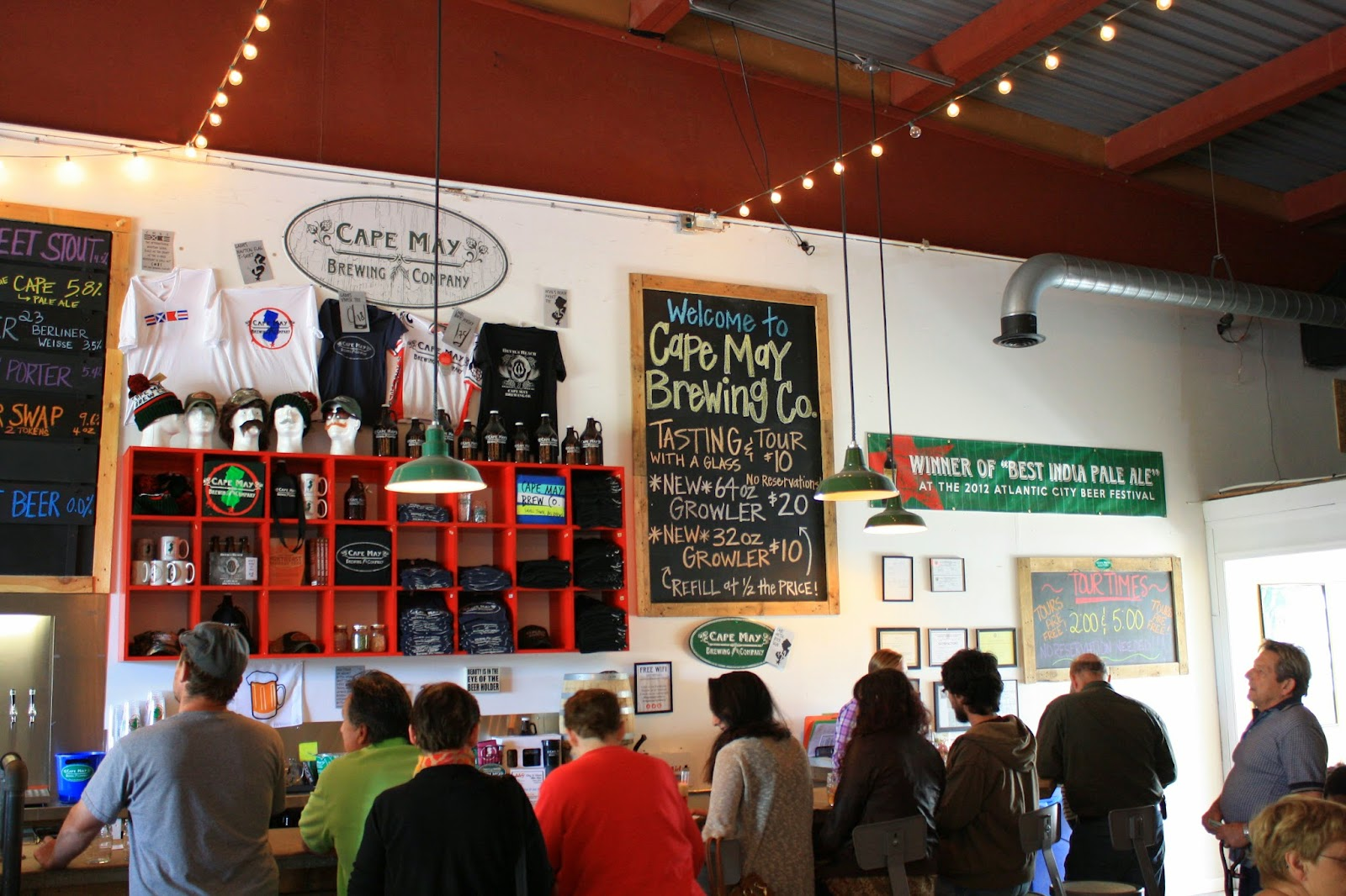 Cape May Brewing Company, Craft Beer, Microbrewery, Jersey Shore, Cape May