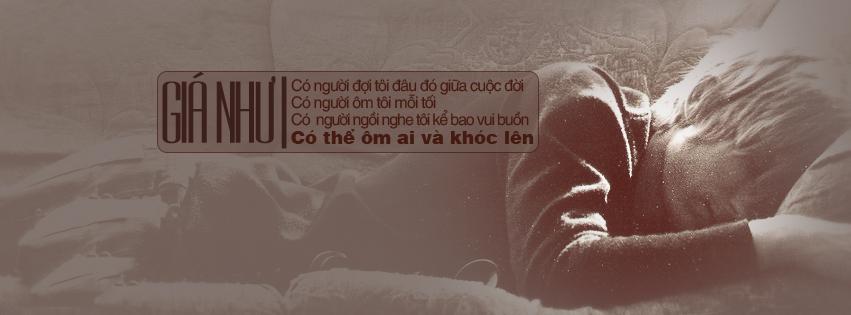Ảnh bìa bài hát: Giá như có thể ôm ai và khóc