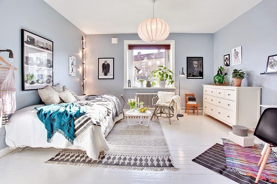 decoraci n f cil un peque o apartamento con paredes en