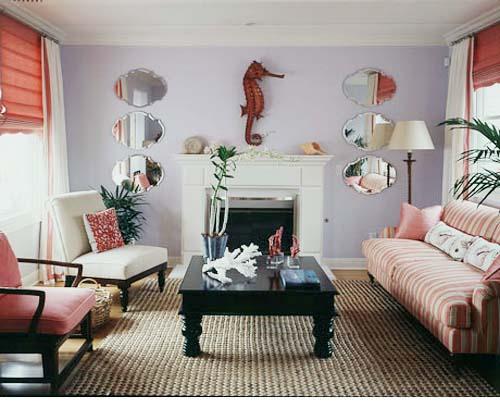 Accent Walls In Living Room Interior Design