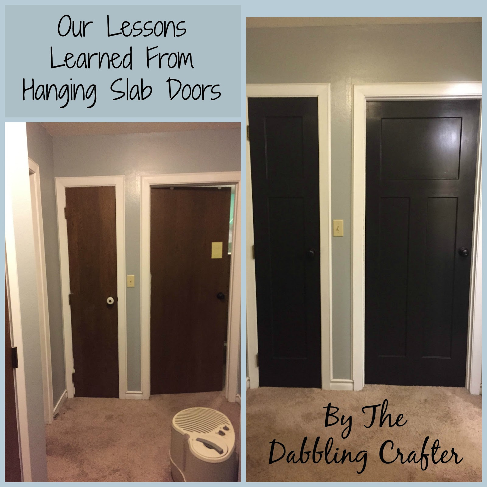Door Drama: Our Lessons Learned from Hanging Slab Doors