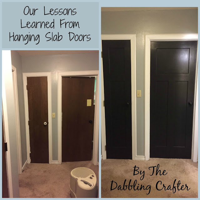 The Dabbling Crafter Door Drama Our Lessons Learned From
