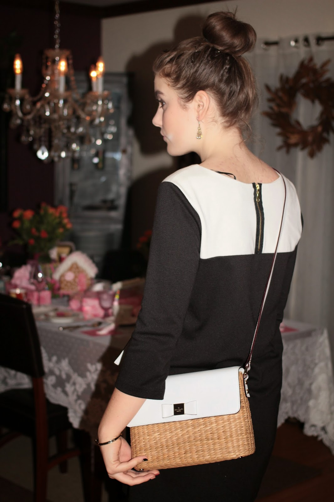 black and white outfit, audrey hepburn inspired, teen fashion, mode ado, outfit noir et blanc,