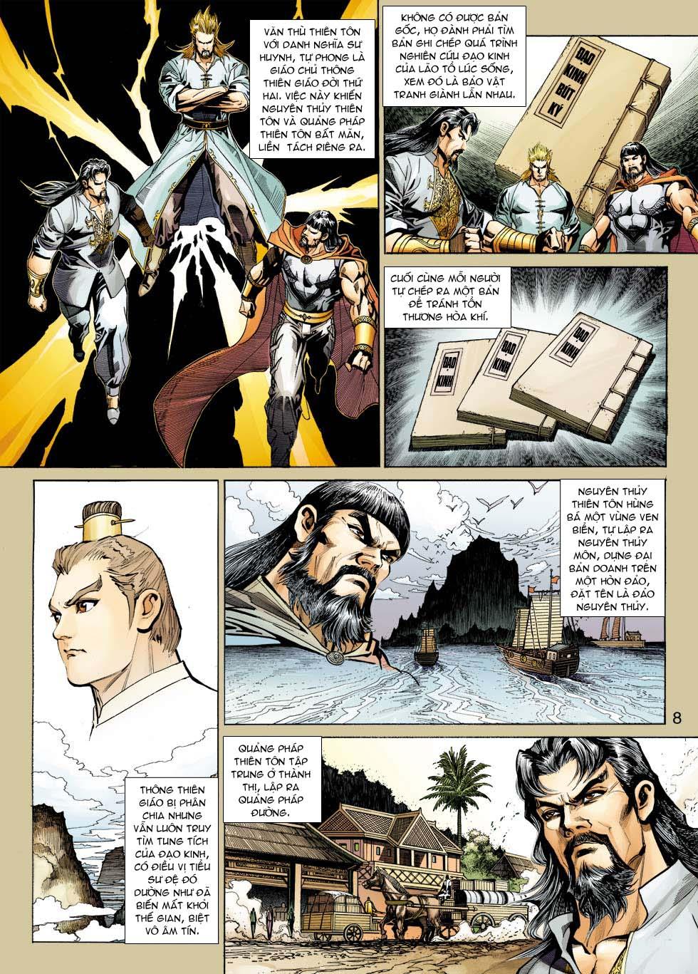 Tân Tác Long Hổ Môn chap 343 - Trang 8
