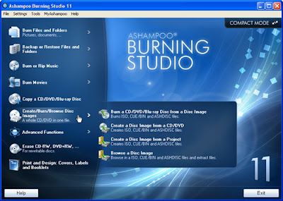 download Ashampoo Burning Studio v11.0.2.6 Portátil 2011 Programa