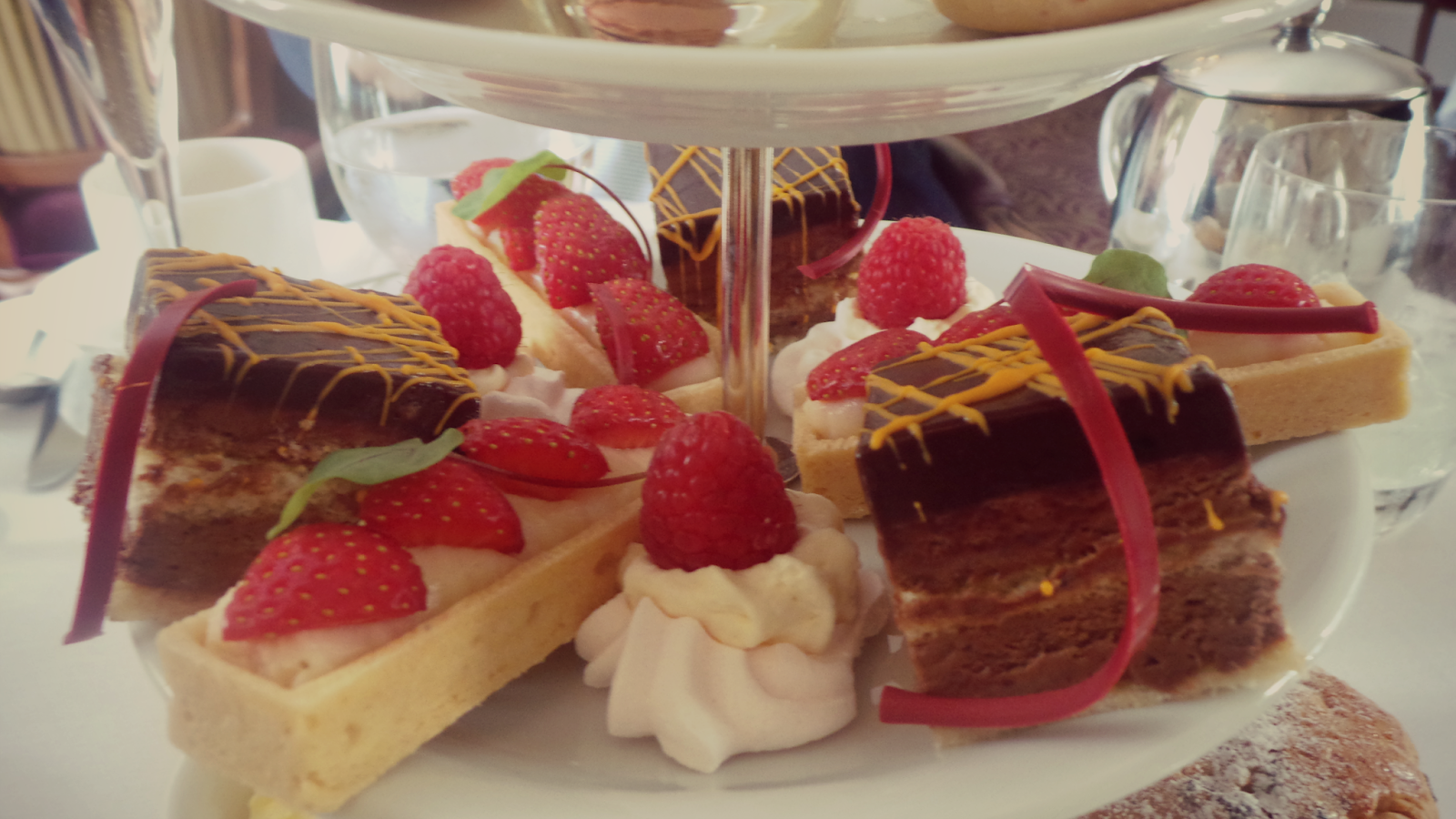 cake tray wentrbidge house afternoon tea