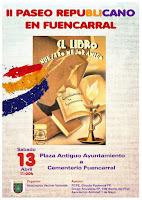 13 de Abril:   Paseo Republicano en Fuencarral