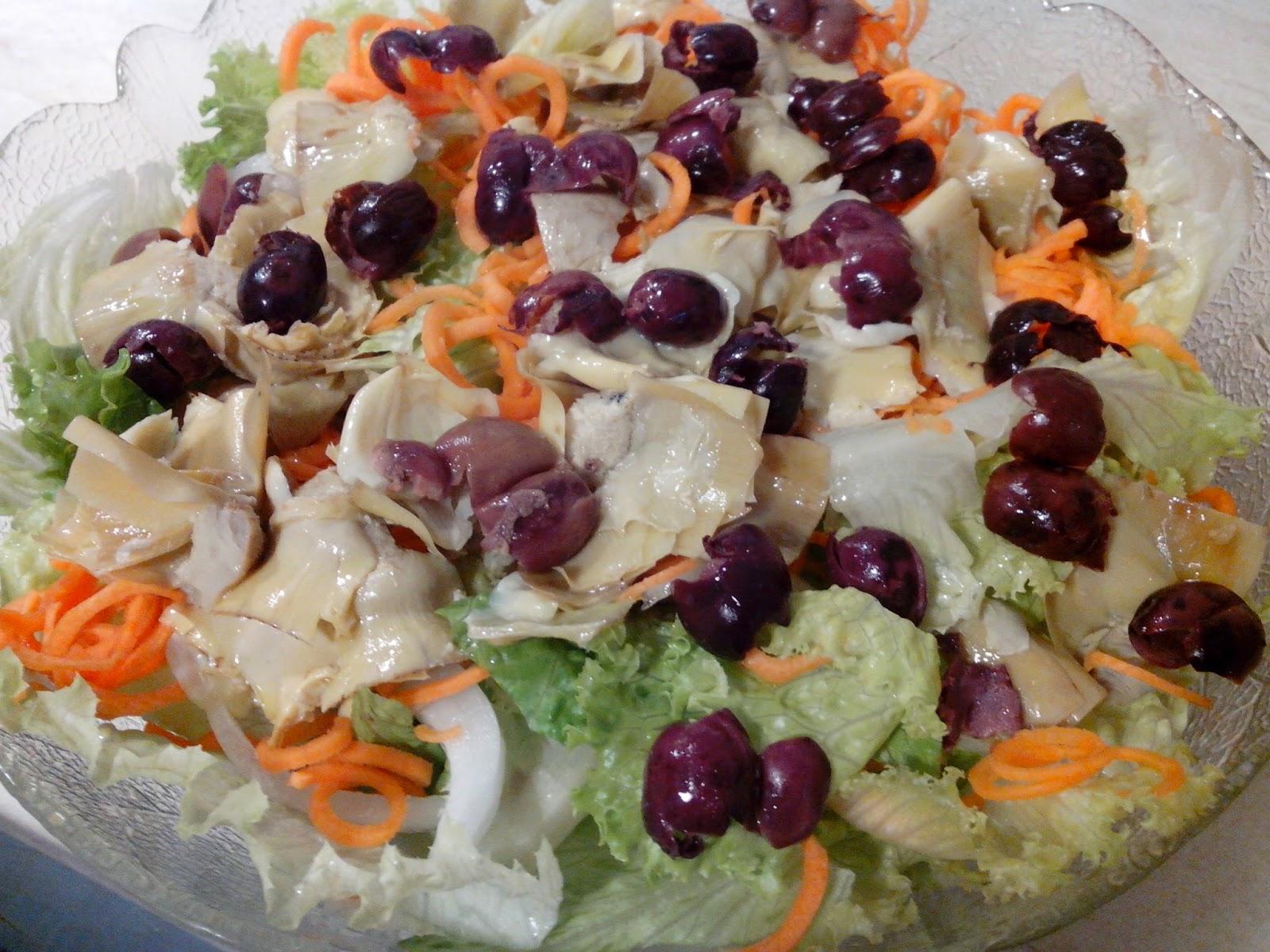 insalata con carciofini e patate