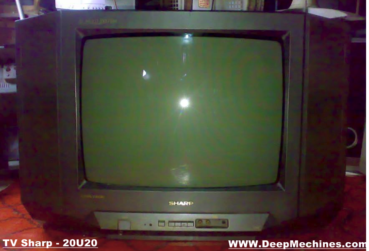 sharp 20 inch tv. gambar tampak depan tv sharp 20-inch - 20u20 20 inch tv