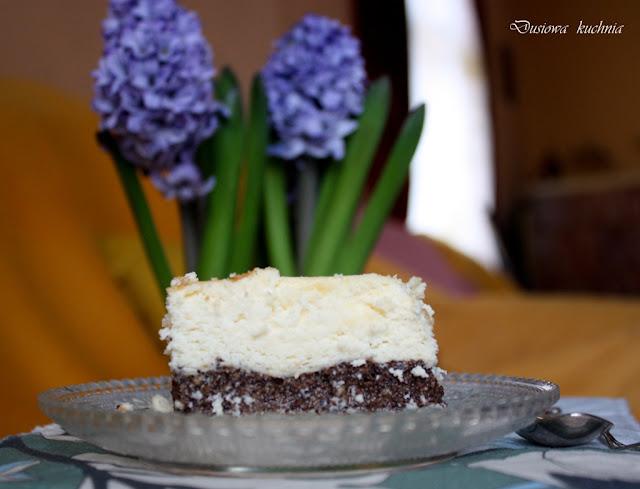 seromakowiec, przepis na seromakowiec, seromak, ciasto z serem i makiem