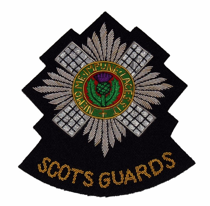 Scots Guards shoulder patch