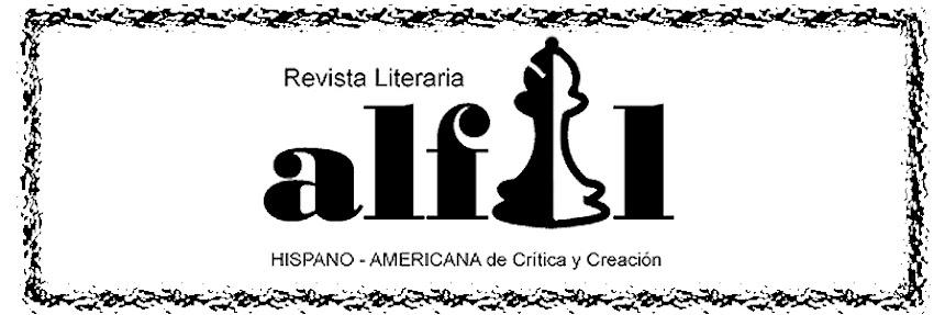Alfil revista literaria hispano- americana.