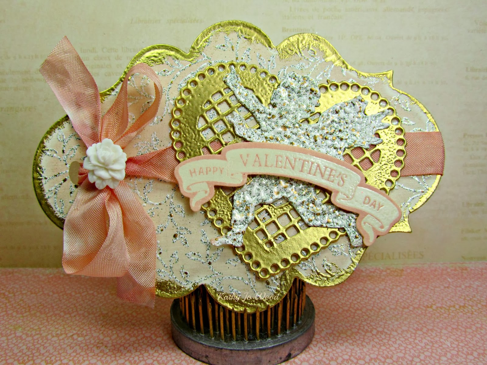 card, Lace Hearts, Labels Twenty, cupid, ideas, Just Rite, JustRite, shaped, Sizzix, Tim Holtz, to make, valentine's day, spellbinders