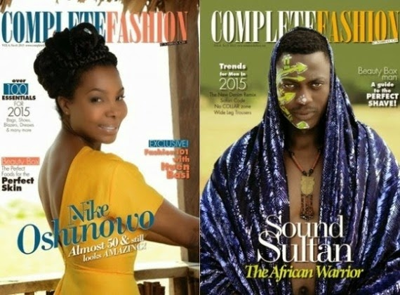 complete fashion magazine with sound sultan and nike oshinowo