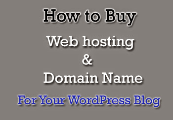 Buy Web hosting With Domain Name For Your WordPress Blog : eAskme