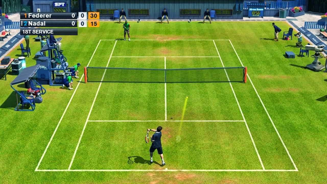 Game PC Virtua Tennis 2009