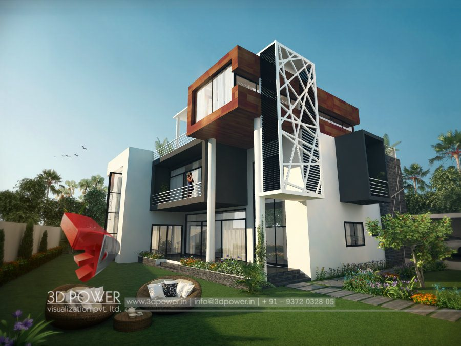 Ultra modern home designs home designs for Exterior 3d design