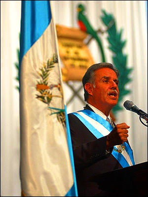 Historia de eventos en Guatemala periodo 2004 a 2008