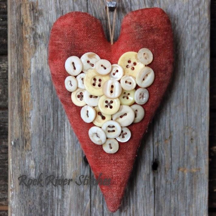 Primitive Valentine Crafts