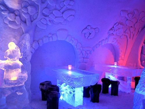 Ice Hotel Finland Top Hd Wallpapers