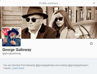 blocked by Galloway