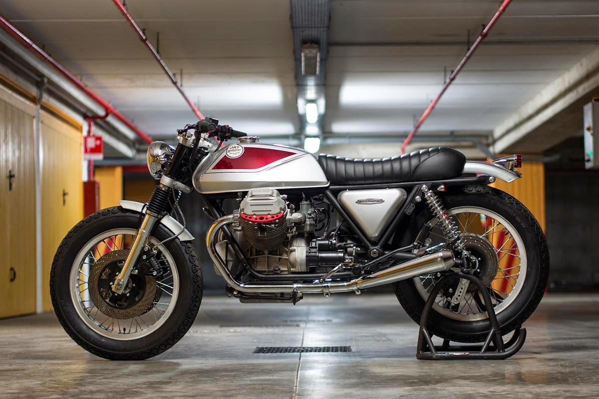 Racing Caf 232 Moto Guzzi Sp 1000 Quot Quattrotempi Quot By Officine Rossopuro