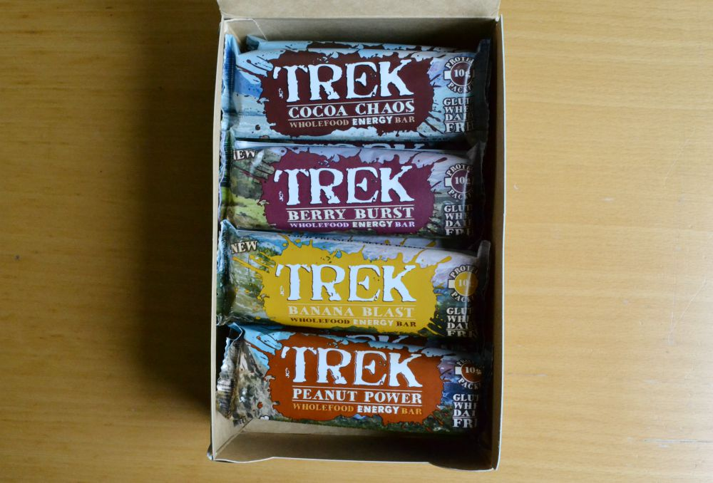 trek protein bars box